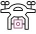 vidéaste mariage drone video plan aerien