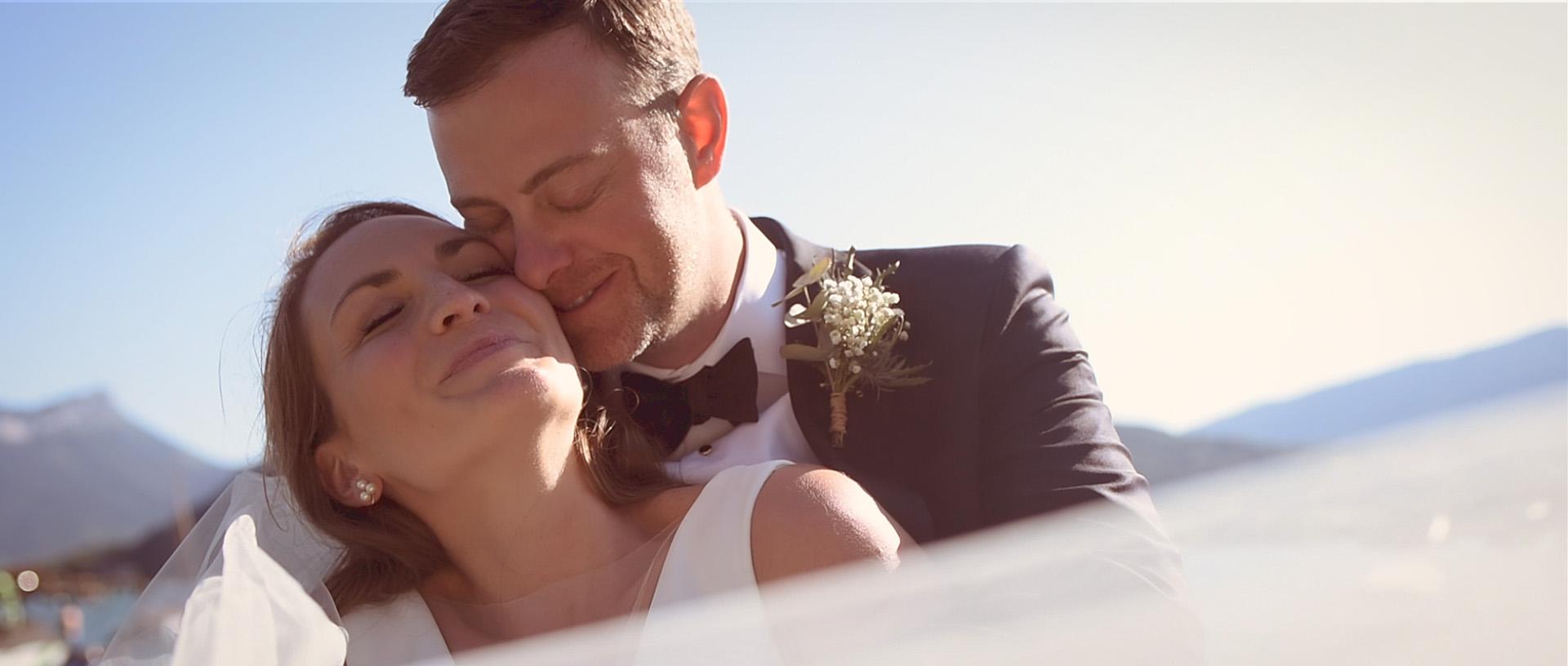 Vidéaste mariage - Elopement Lac Annecy - Hôtel Yoann Conte