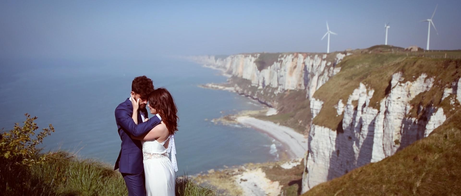 vidéaste mariage Inspiration Normandie Fecamp